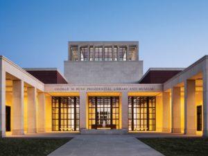 George W. Bush Presidential Library, Dallas, Texas. Photo Credit: George W. Bush Library.